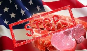 запретили америкнское мясо в России