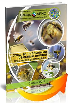 книга-уход-за-пчелинами-семьями-весной-со-стрелкой