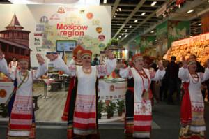 выступление коллективов из России на зеленой недели 2014